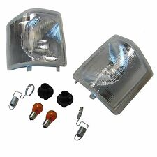 Clear front indicator upgrade kit for Land Rover Discovery 1 300 Tdi lamp Light