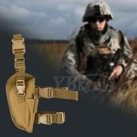 Adjustable Nylon Tactics Army Pistol Gun Drop Leg Thigh Holster With Belt