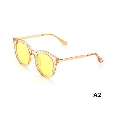 Women's Retro Cat Eye Sunglasses Classic Vintage Fashion Shades Clear Eyewear