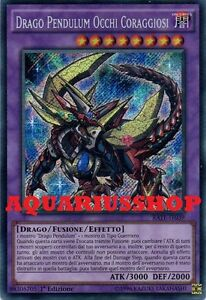 Yu gi oh drago pendulum occhi coraggiosi rate it039 rara segreta ita nuovo yuya ebay - Drago furioso occhi diversi ...