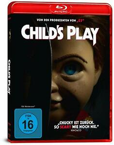 Child's Play (2019) [Blu-Ray/Nuovo/Scatola Originale] aggiornamento del horror classico gioco di 1988