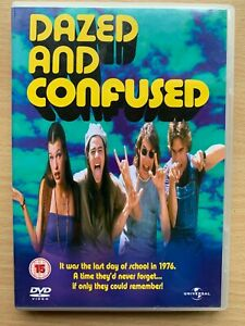 Dazed-And-Confused-DVD-1993-1970s-Seventies-Era-High-School-Stone-Cult-Classic
