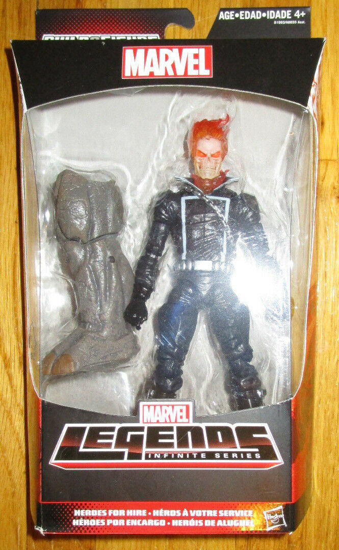 Marvel Legends Infinite Series GHOST RIDER 6   Figure SPIDERhomme HIRE BAF RHINO  plus d'escompte