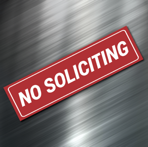 1-NO-SOLICITING-Sign-Sticker-Business-Window-Door-Decal-Store-1-5-034-x5-5-034-NEW