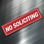 1-NO-SOLICITING-Sign-Sticker-Business-Window-Door-Decal-Store-1-5-034-x5-5-034-NEW thumbnail 1