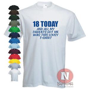 Image Is Loading 18th Birthday Celebration Funny T Shirt Bday Custom