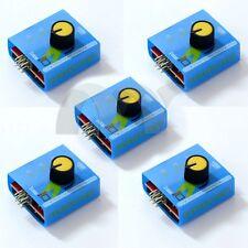 5 PCS ESC / Servo tester 3 Channels CCPM Meter Checker 4.8-6V