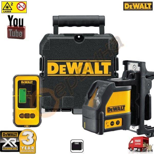 DeWalt DW088KD Kreuzlinien Laser Koffer + DE0892 Detektor