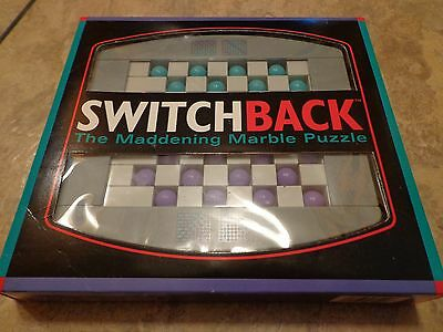 1993 BINARY ARTS--SWITCHBACK MARBLE PUZZLE (LOOK)