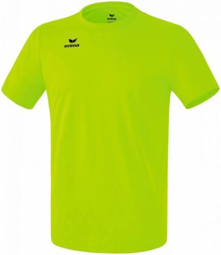 Erima Funktions Teamsport T-Shirt hellgrün Kinder NEU 72064