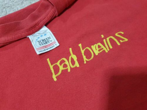 Rare Vintage Original Bad Brains American Hardcore