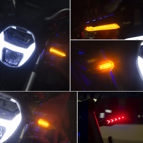SPIRIT BEAST Motorcycle Turn Signal Flasher Led Indicator Tail Light DRL