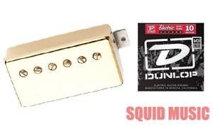 100% Vrai Seymour Duncan Sh-2n Jazz Gold Cover Neck Guitar Pickup (1 Set Of Strings)-afficher Le Titre D'origine Promouvoir La Santé Et GuéRir Les Maladies