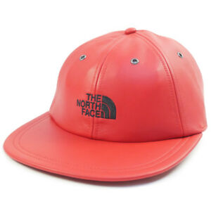 c93825520 Details about Supreme The North Face TNF Red Leather 6 Panel Strap Back Hat  FW18 Authentic