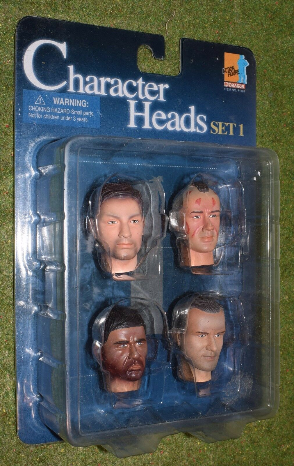 DRAGON 1 6 1 6TH SCALE CHARACTER HEADS SET 1 Item No 71184