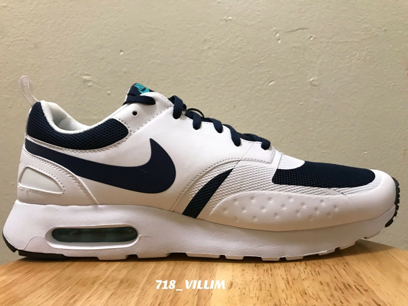 new arrival e98ba e199a NIKE AIR MAX VISION MIDNIGHT NAVY 918230 400 SIZE 12 12 12 NEW 90 95 VAPOR