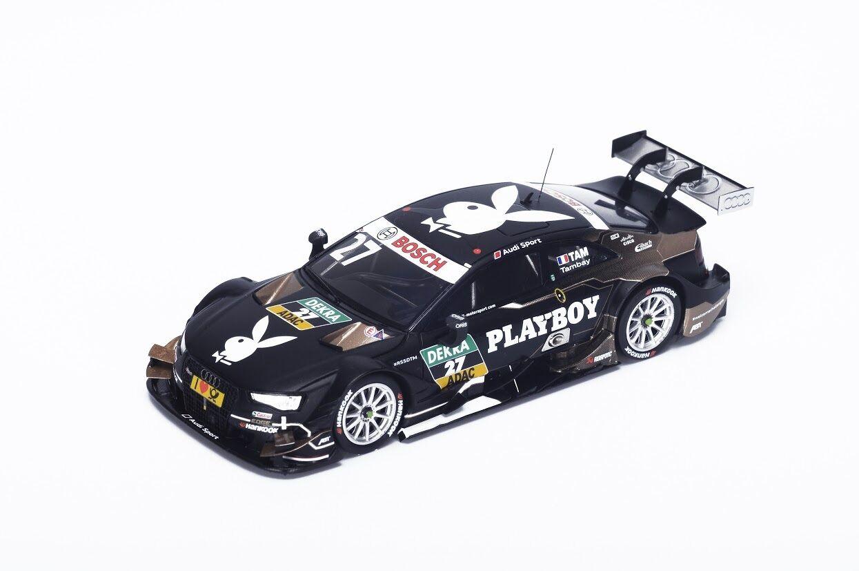 Spark SG220 - AUDI RS5 Team Abt n 27 24ème DTM 2015 Adrien Tambay 1/43
