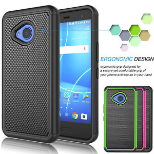 Armor-Shockproof-Hybrid-Rugged-Rubber-Matte-Hard-Case-Cover-for-HTC-U11-Life