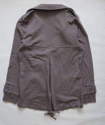 Next Women`s Jacket Charcoal Trench Jacket Size 10