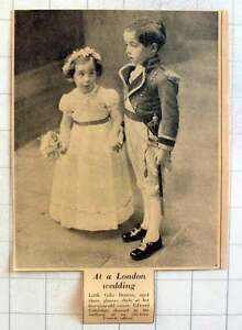 1953-Charming-Little-Celia-Denton-With-Her-Escort-Edward-Coleridge-In-Uniform
