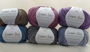 Debbie-Bliss-Cashmerino-Aran-Tonals-x-50g-Choose-Colour