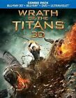 Wrath of The Titans 3d 0883929241033 With Liam Neeson Blu-ray Region a