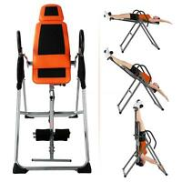 Therapy Inversion Table Hang Chair Gravity Inverted Back Relief Pain B3q5