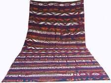 13.3 x 7 ft. Antique Uzbek nomads Kilim Jajim rug Central Asia kelim No-658