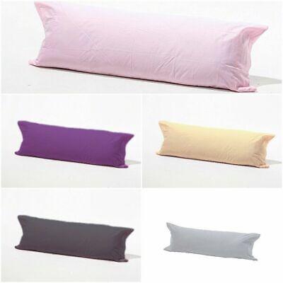 Accurato Long Poggiate Federa Solo-body Pillow Sostegno Collo-gravidanza Supporto 5ft-mostra Il Titolo Originale