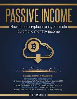 Passive income cryptocurrency how