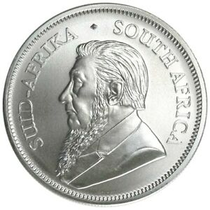 2021-South-Africa-1-oz-999-Fine-Silver-Krugerrand-Paul-Kruger-Coin-Brilliant-UNC