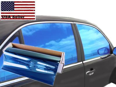 JNK NETWORKS Reflective Shield Ceramic Window UV Tint Film for Cars Trucks Tractors Silver, 40 x 10