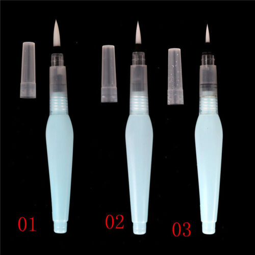 New Refillable Pilot Water Brush Ink Pen Watercolor Painting Drawing Pen Pencil