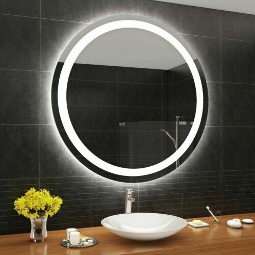 Controluce LED specchio su misura illuminazione sala da bagno M33