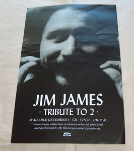 Jim-James-43-2cmX27-9cm-Homenaje-a-2-CD-Vinilo-LP-Digital-Promo-Musica-Poster