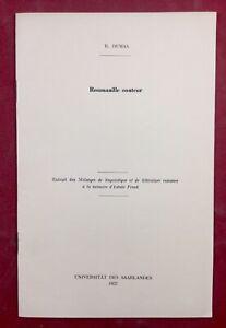 Roumanille-Conteur-1957-Rene-Dumas-Itsvan-Frank-Universite-Saarlandes-Provencal
