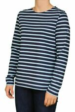 48 Saint James Da Bretagne Shirt marine türkis langarm Gr 38 bis Gr