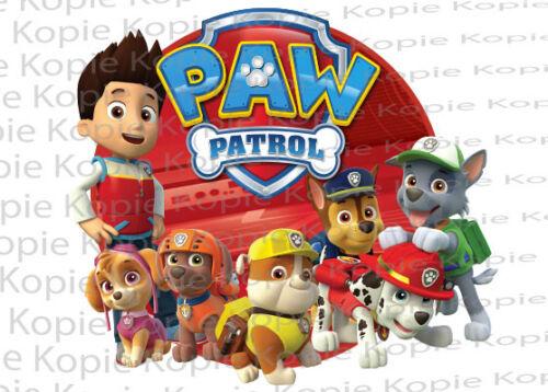 Bügelbild Transferfolie Paw Patrol Ryder Marshall Chase Rocky 205