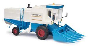 Busch-40174-Combine-Harvester-Fortschr-e-514-Corn-Picker-Blue-Model-1-87-H0