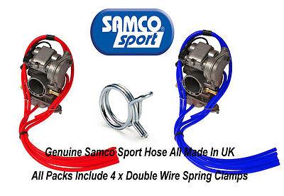 Suzuki DR Z 400 SM Samco Silicone Carb Vent Vacuum Hose Pack & Clamps Motocross