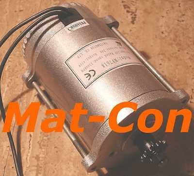 E-Motor Elektromotor UNITE MY7618 450W 24V/36V DC 1,43Nm, mit Ritzel, 3000U/min