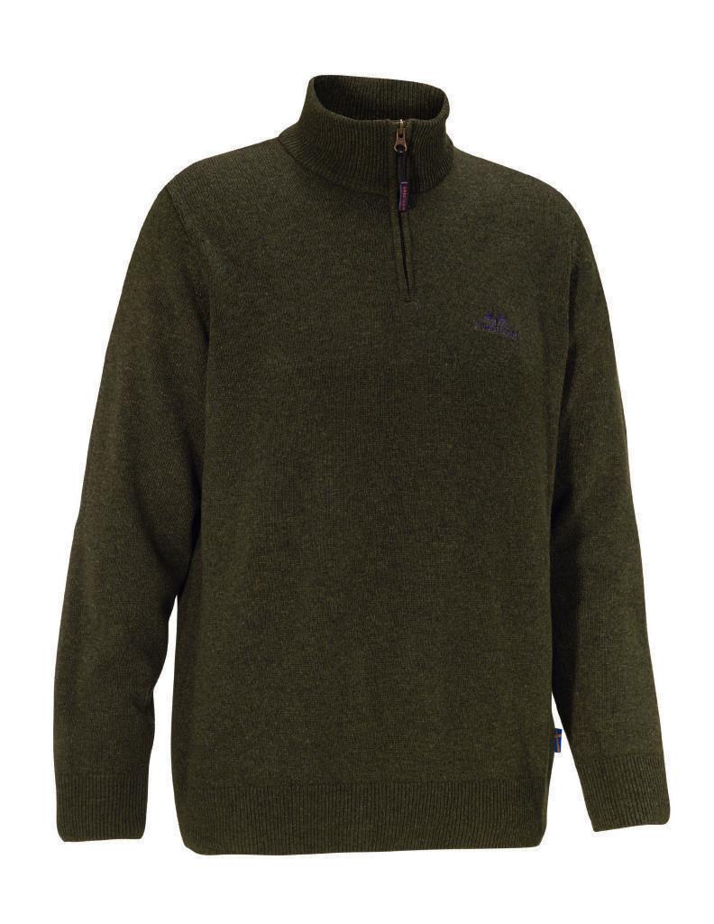 Swedteam Sweater Kyle M Half Zip Wool