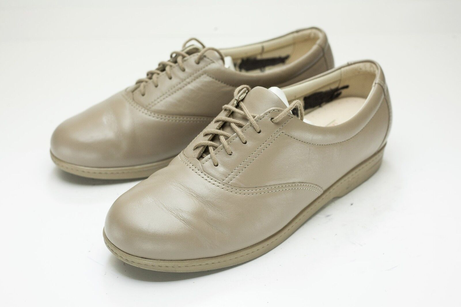SAS 8.5 Taupe Oxford Womens shoes