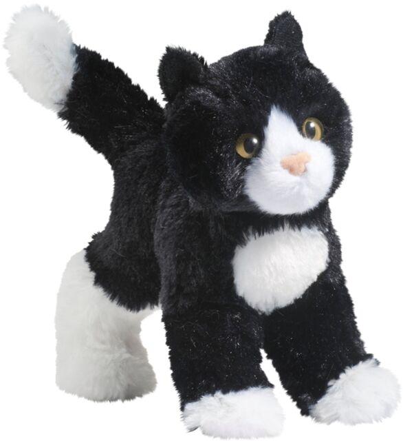 Cuddle Toys 4092 20 cm di lunghezza Uomo Nero E Bianco Gatto Peluche Giocattolo
