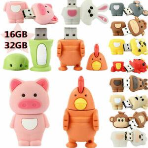 16GB-USB-Flash-Drive-Stick-Disk-Pendrive-Various-Cartoon-Storage-Memory-lot-ei