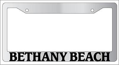 Chrome License Plate Frame  New City State Panama City Auto Accessory 1105