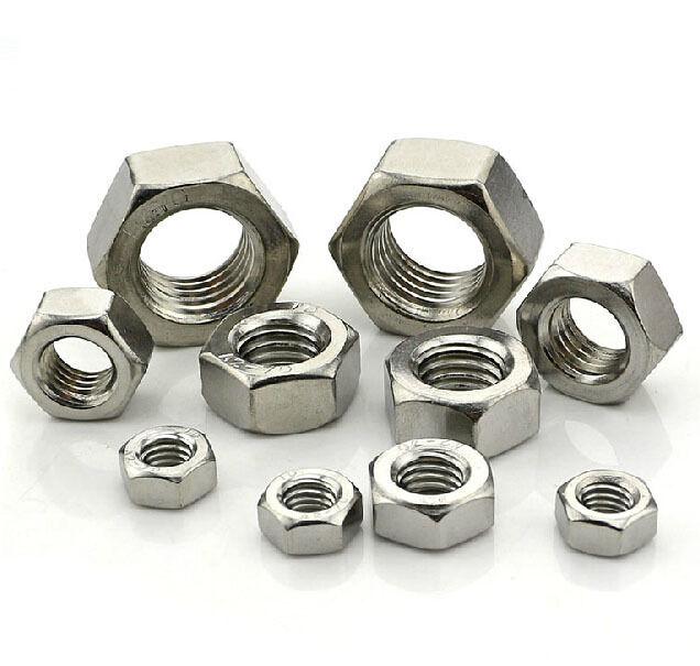 A2 A4 Stainless Steel Hex Nuts Nut M1 M1.2 M1.4 M1.6 M2/M2.5/M3/M4/M5- M10