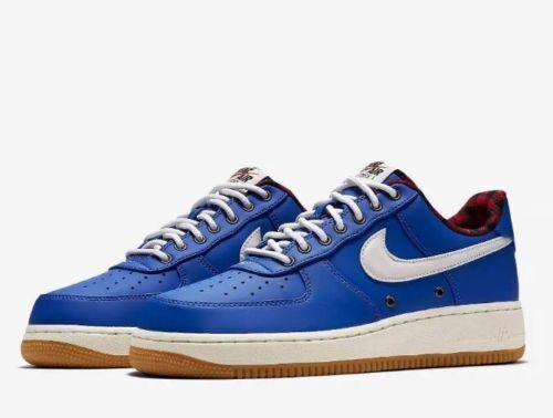 brand new 27440 8f825 Nike Air Force 1  07 Lv8 Lumberjack Mens 718152-406 HYPER Cobalt Shoes Size  10.5 for sale online   eBay