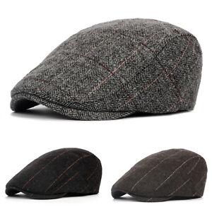 Keepsa Homme Style Vintage Flat Cap Gatsby Ivy irlandais Hat Newsboy béret caps