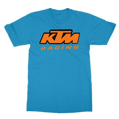 KTM Racing Motorcycle Motorbikes SuperCross MX Men/'s T-Shirt
